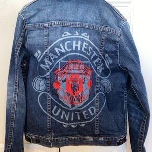 True Religion/Manchest United Denim Jacket